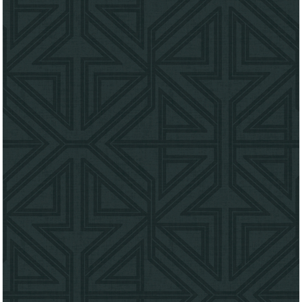Picture of Kachel Teal Geometric Wallpaper