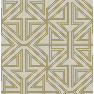 Picture of Kachel Gold Geometric Wallpaper