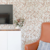 Picture of Leandra Coral Floral Trail Wallpaper