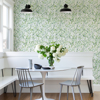 Picture of Leandra Green Floral Trail Wallpaper