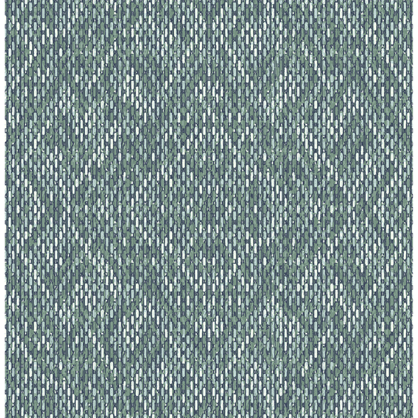 Picture of Felix Teal Geometric Wallpaper