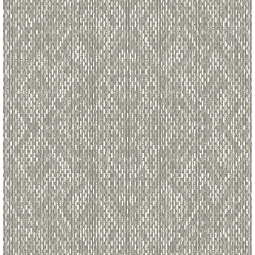 Picture of Felix Grey Geometric Wallpaper