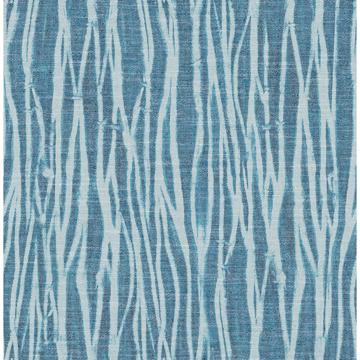 Picture of Nazar Indigo Stripe Wallpaper
