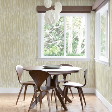 Picture of Nazar Yellow Stripe Wallpaper