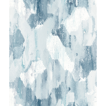 Picture of Mahi Blue Abstract Wallpaper