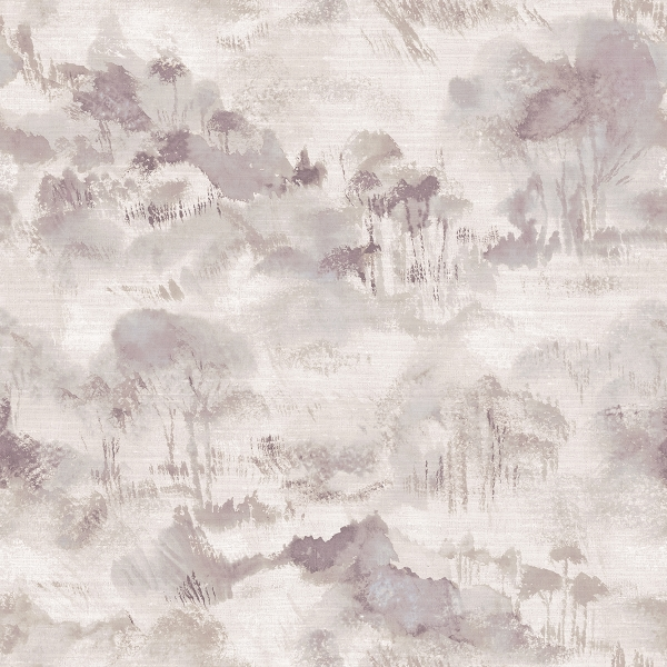 Picture of Nara Grey Toile Wallpaper