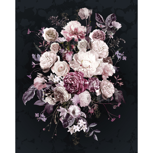 Picture of Bouquet Noir Wall Mural