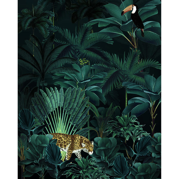 Picture of Jungle Night Wall Mural