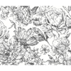 Picture of Flowerbed Wall Mural