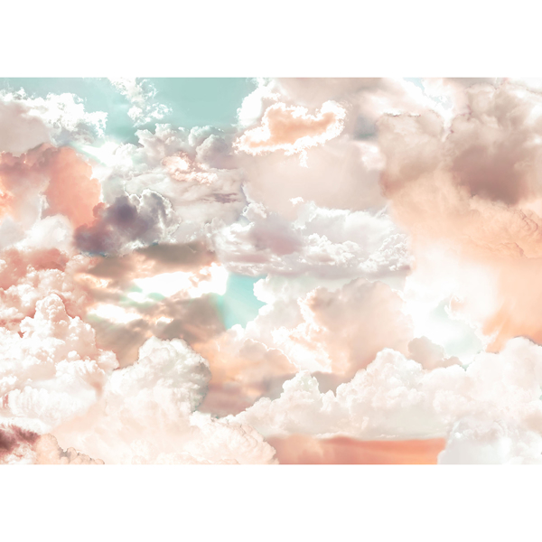 Picture of Mellow Clouds Wall Mural