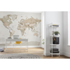 Picture of Earth Map Wall Mural