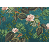 Picture of Teal Tropic Wall Mural