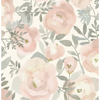 Picture of Rose Peachy Keen Peel and Stick Wallpaper