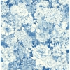 Picture of Indigo Empress Garden Peel and Stick Wallpaper