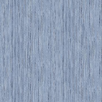 Picture of Justina Indigo Faux Grasscloth Wallpaper