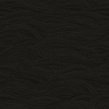 Picture of Leith Black Zen Waves Wallpaper