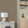 Picture of Leith Gold Zen Waves Wallpaper