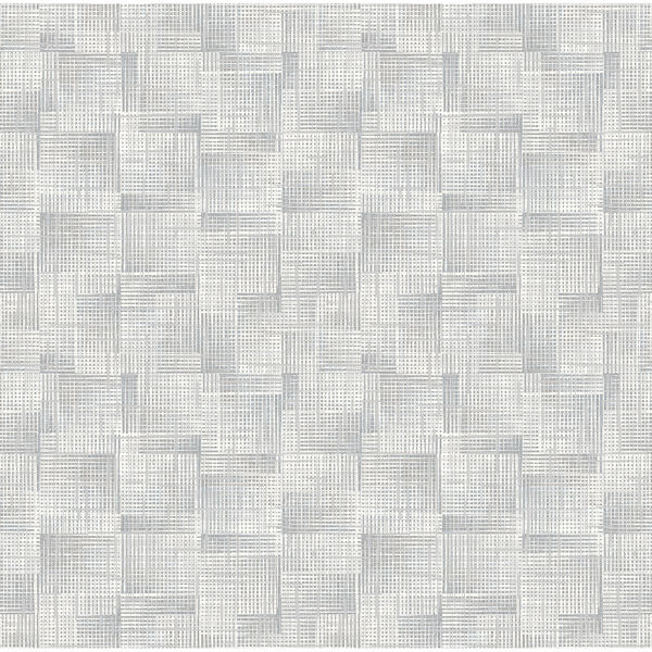 Picture of Ting Grey Abstract Woven Wallpaper