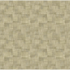 Picture of Ting Brown Abstract Woven Wallpaper