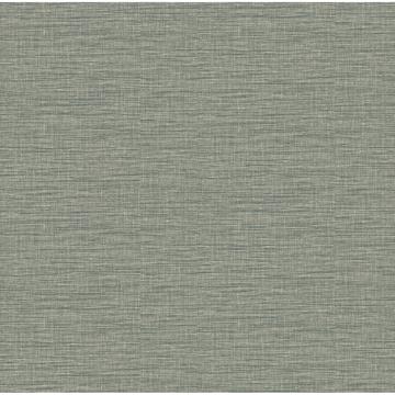 Picture of Lela Jade Faux Linen Wallpaper