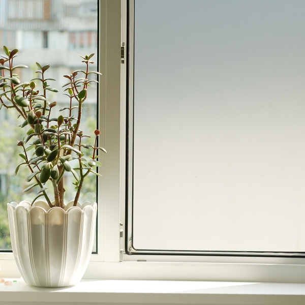 Picture of Transparent White Static Window Film