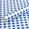 Picture of Blue Gingham Self Adhesive Film
