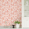Picture of Coral Danson Peel and Stick Wallpaper
