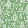 Picture of Green Danson Peel and Stick Wallpaper
