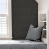 Picture of Charcoal Darcy Peel and Stick Wallpaper