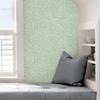 Picture of Green Saraya Peel and Stick Wallpaper