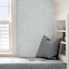 Picture of Blue Saraya Peel and Stick Wallpaper