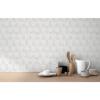 Picture of Ceramica Grey Hexagon Tile Wallpaper
