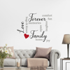 Picture of Family Wall Quote Decals