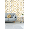 Picture of Mia Mustard Floral Wallpaper