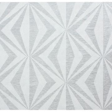 Picture of Precision Silver Diamond Geo Wallpaper