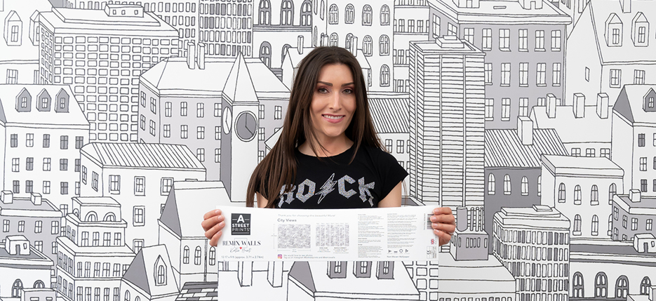 From Installer to Designer: Katie Hunt's Evolving Wallpaper Journey