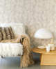 Picture of Pennine Taupe Pony Hide Wallpaper