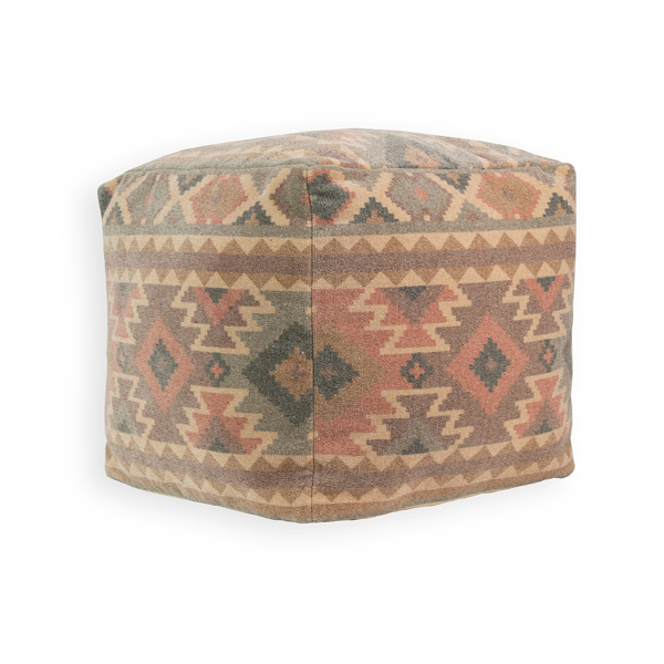 Picture of Tribal Neutral Pouf Decorative Object