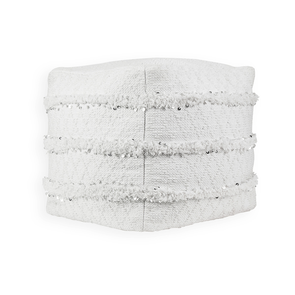 Picture of Modern White Pouf Decorative Object