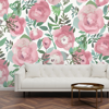 Picture of Blooming Floral Darling Pink Wall Mural