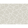 Picture of Modern Lines White on Dove Grey Wall Mural