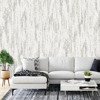 Picture of Rainfall Dove Grey Wall Mural