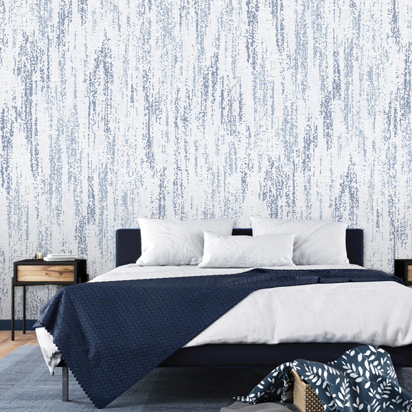 Picture of Rainfall Ocean Blue Wall Mural