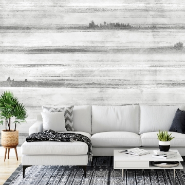 Picture of Jet Set Dove Grey Wall Mural