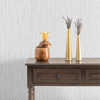 Picture of Antoni White Vertical Plaster Paintable Wallpaper