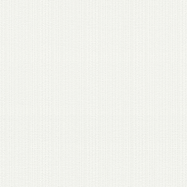 Picture of Samuel White Textured Stripe Paintable Wallpaper