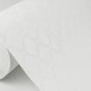 Picture of Armin White Diamond Trellis Paintable Wallpaper