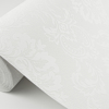 Picture of Plouf White Damask Paintable Wallpaper