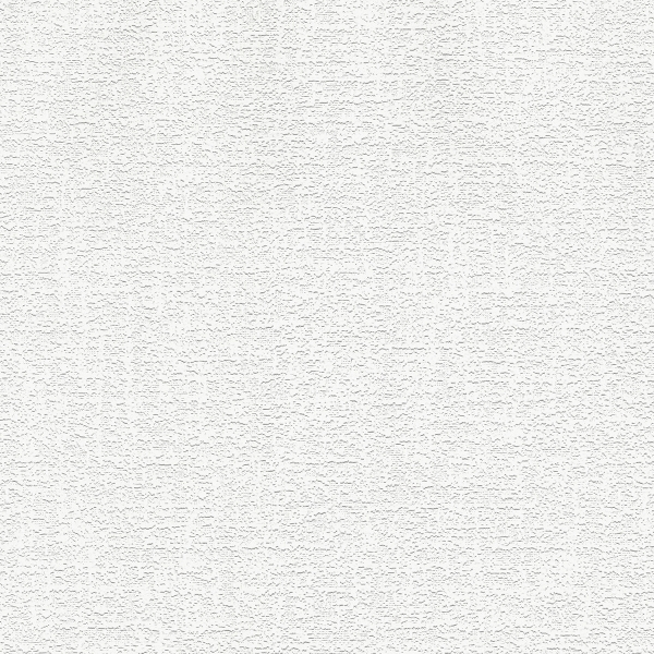 Picture of Lou White Stucco Linen Paintable Wallpaper