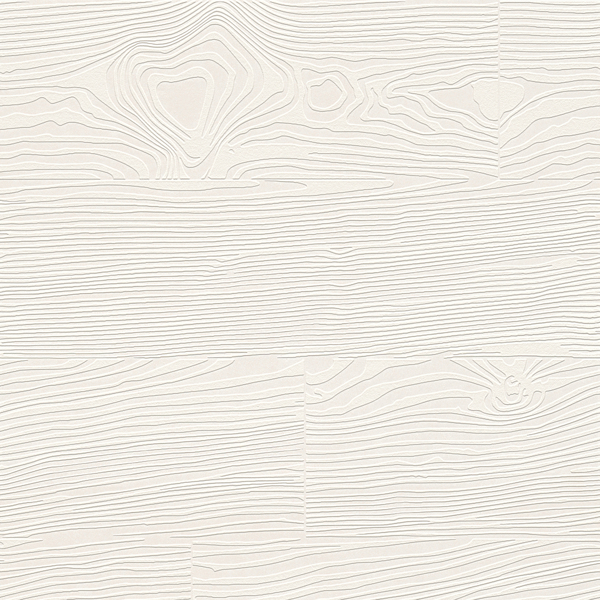 Picture of Wade White Wood Planks Paintable Wallpaper